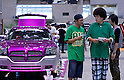 CHIBA - SEPTEMBER 6, 2009: The first Newstyle Custom Autoshow took place at Makuhari Messe in Chiba on September 6. The event gathered together a large number of lowrider, hotrod, luxuary SUVs and customized motorcycles. (Photo Laurent Benchana/Nippon News)