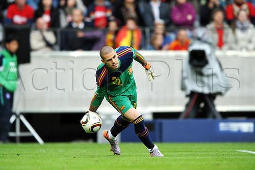 Victor Valdes (ESP), JUNE 3, 2010 - FIFA 2010 World Cup Football : International friendly match between Spain 1-0 South Korea at Stadion Tivoli Neu in Innsbruck, Austria.