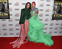 """14 November 2019 - Hollywood, California - Melina Matsoukas, Melanie Halfkenny. AFI FEST 2019 Presented By Audi – """"Queen & Slim"""" Premiere held at TCL Chinese Theatre. Photo Credit: Billy Bennight/AdMedia"""