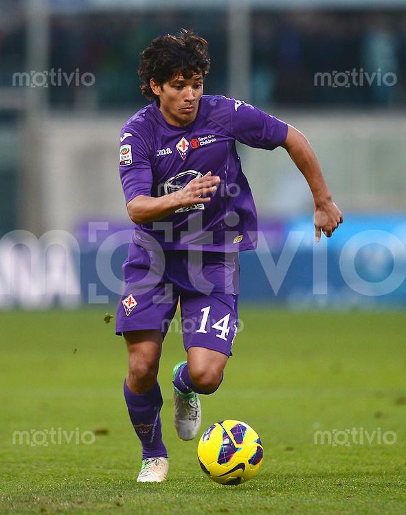 FUSSBALL INTERNATIONAL   SERIE A   SAISON 2012/2013    AC Florenz - Atalanta   18.11.2012 Mati Fernandez (AC Florenz)