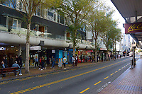 Manners Street in the Wellington city centre on Queens Birthday weekend. Wellington, New Zealand on Sunday, 31 May 2020.