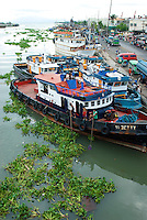 Harbor area in Manila, Philippines