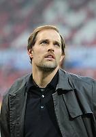 FUSSBALL   1. BUNDESLIGA  SAISON 2011/2012   11. Spieltag   29.10.2011 1.FSV Mainz 05 - SV Werder Bremen Trainer Thomas Tuchel (1. FSV Mainz 05) nachdenklich