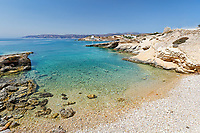 Spilia beach of Koufonissi island in Cyclades, Greece