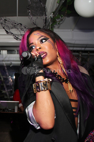 NEW YORK, NY - APRIL 3, 2015<br /> Rich White Ladies perform at they're EP release party, April 3, 2015 in New York City.Walik Goshorn / MediaPunch