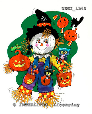 GIORDANO, CUTE ANIMALS, LUSTIGE TIERE, ANIMALITOS DIVERTIDOS, Halloween, paintings+++++,USGI1540,#AC#