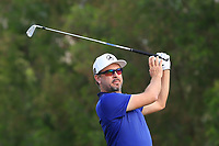 Mikko Korhonen (FIN) on the 4th tee during Round 1 of the Omega Dubai Desert Classic, Emirates Golf Club, Dubai,  United Arab Emirates. 24/01/2019<br /> Picture: Golffile | Thos Caffrey<br /> <br /> <br /> All photo usage must carry mandatory copyright credit (&copy; Golffile | Thos Caffrey)