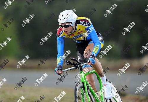 2014-04-08 / Wielrennen / seizoen 2014 / Thomas Demolder<br /><br />Foto: mpics.be