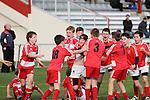 Seddon Shield Districts Primary Schools under 52kg rugby tournament, Lansdowne Park, Blenheim, New Zealand. Tuesday 8th July 2014. Photo: Ricky Wilson/www.shuttersport.co.nz