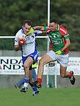 Glen Emmets Keith Lynch Lannleire Carlos Lambe. Photo: Colin Bell/Pressphotos.ie
