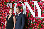NEW YORK, NY - JUNE 10:  Amy Schumer and Chris Fischer attend the 72nd Annual Tony Awards at Radio City Music Hall on June 10, 2018 in New York City.  (Photo by Walter McBride/WireImage)