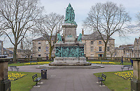 Monument of Queen Victoria in Dalton Square, Lancaster.