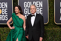 Catherine Zeta-Jones and Michael Douglas attend the 76th Annual Golden Globe Awards at the Beverly Hilton in Beverly Hills, CA on Sunday, January 6, 2019.<br /> *Editorial Use Only*<br /> CAP/PLF/HFPA<br /> Image supplied by Capital Pictures