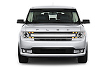 Straight front view of a 2013 Ford Flex SEL