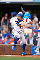 Lexington Legends outfielder Ryan O'Hearn (22) at bat during a game against the Hagerstown Suns on May 22, 2015 at Whitaker Bank Ballpark in Lexington, Kentucky.  Lexington defeated Hagerstown 5-1.  (Mike Janes/Four Seam Images)