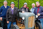 Charlie Cahillane Cordal, Ger brosnan Knocknagoshel, Eamon Walsh Brosna, Den Joe Connor Brosna and Dan Joe Murphy Rockchapel enjoying the Paudie Fitzmaurice memorial tractor run in Cordal on Sunday