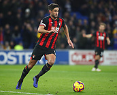 2nd February 2019, Cardiff City Stadium, Cardiff, Wales; EPL Premier League football, Cardiff City versus AFC Bournemouth; Andrew Surman of Bournemouth with the ball