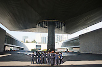 Museum of Anthropology (architect Pedro Ramirez Vazquez). Chapultepec Park, Mexico City.