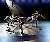 Rambert Dance <br /> New Choreography at The Place, London, Great Britain <br /> 16th December 2014 <br /> <br /> Convergence <br /> by Patricia Okenwa <br /> <br /> Liam Francis<br /> Antonia Hewitt <br /> Adam Park <br /> Hannah Rudd<br /> Kym Sojourna<br /> Stephen Wright <br /> <br /> <br /> Photograph by Elliott Franks <br /> Image licensed to Elliott Franks Photography Services