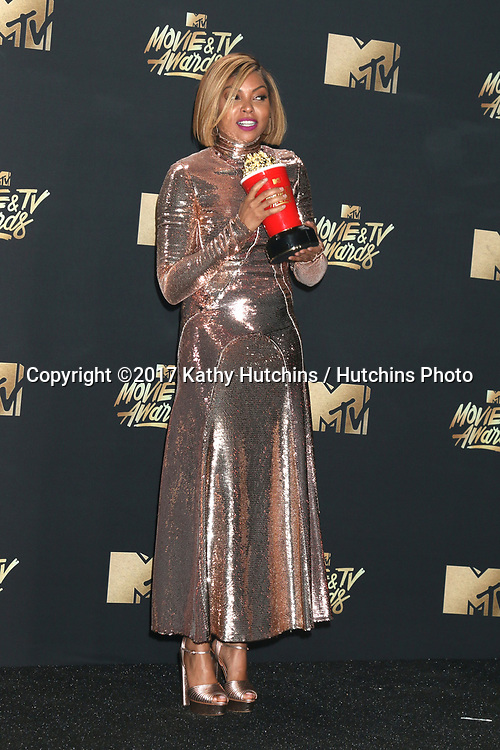 LOS ANGELES - MAY 7:  Taraji P. Henson at the MTV Movie and Television Awards on the Shrine Auditorium on May 7, 2017 in Los Angeles, CA