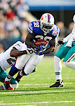 29 November 2009: Buffalo Bills fullback Corey McIntyre in action against the Miami Dolphins at Ralph Wilson Stadium in Orchard Park, New York. The Bills defeated the Dolphins 31-14. Mandatory Credit: Ed Wolfstein Photo