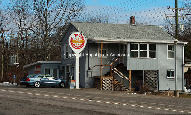 WATERBURY, CT--- -010816JS06--The former Burrville General Store is now Noujaim's Eatery in the Burrville section of Torrington. <br /> Jim Shannon Republican-American