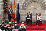 Princes Felipe and Letizia of Spain present the award 'Principe de Viana' for the spanish philosopher Daniel Innerarity Grau. June 06,2013. (ALTERPHOTOS/Acero)