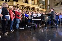 SATB Alumni Chorus Rehearsal
