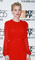NEW YORK, NY October 12, 2017Carey Mulligan attend 55th NYFF present  premiere of Mudbound  at Alice Tully Hall in New York October 12,  2017. Credit:RW/MediaPunch