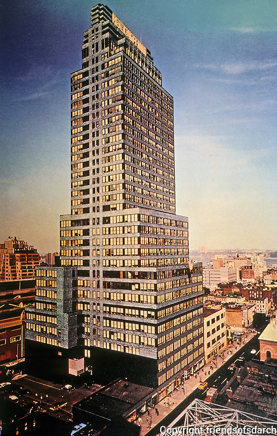 New York:  McGraw-Hill Building, 1931.  Raymond Hood, architect.  Photo '84.