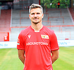 06.07.2019, Stadion an der Wuhlheide, Berlin, GER, 2.FBL, 1.FC UNION BERLIN , Mannschaftsfoto, Portraits, <br /> DFL  regulations prohibit any use of photographs as image sequences and/or quasi-video<br /> im Bild Michael Parensen (1.FC Union Berlin #29)<br /> <br /> <br />      <br /> Foto © nordphoto / Engler