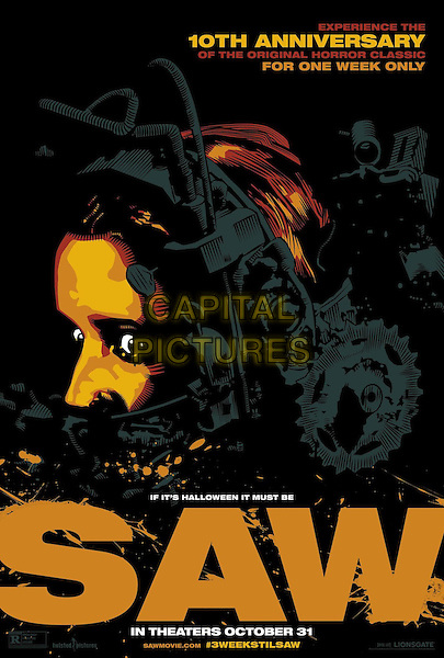 POSTER ART<br /> in Saw (2004)<br /> *Filmstill - Editorial Use Only*<br /> CAP/NFS<br /> Image supplied by Capital Pictures