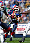 30 September 2007: Buffalo Bills rookie quarterback Trent Edwards, a third-round pick out of Stanford, in action against the New York Jets at Ralph Wilson Stadium in Orchard Park, NY. The Bills defeated the Jets 17-14 for their first win of the 2007 season...Mandatory Photo Credit: Ed Wolfstein Photo