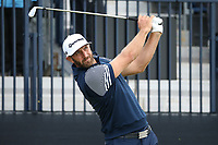 Dustin Johnson (USA) during Round One of the 148th Open Championship, Royal Portrush Golf Club, Portrush, Antrim, Northern Ireland. 18/07/2019. Picture David Lloyd / Golffile.ie<br /> <br /> All photo usage must carry mandatory copyright credit (© Golffile | David Lloyd)