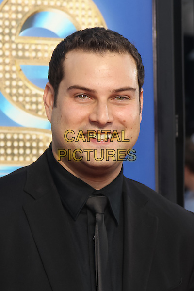 MAX ADLER.The 20th Century Fox 'Glee 3D' Concert World Movie Premiere held at The Regency Village theatre in Westwood, California, USA,.August 6th 2011..headshot portrait black suit.CAP/CEL.©CEL/Capital Pictures