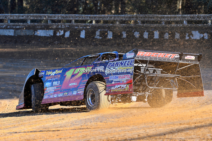 Feb 16, 2014; 4:39:09 PM; Ocala, FL., USA; The Third Annual Bubba Army Winter Nationals World Of Outlaws Super Late Models paying $12,000 to win at Bubba RaceWay Park.  Mandatory Credit: (thesportswire.net)