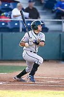 Boise Hawks' Rafael Lopez #26 at bat against the Everett AquaSox at Everett Memorial Stadium in Everett, Washington on July 30, 2011.  (Ronnie Allen/Four Seam Images)