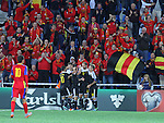 10.10.2015 Andorra. UEFA Europaen Championship Qualifying Round. Picture show Laurent Depoitre in action during match Andorra v Belgium