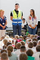 2019 06 28 Amazon, Burlais Primary School in Swansea, Wales, UK