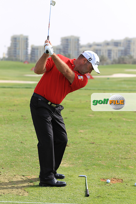 Thomas Levet (FRA) swing sequence during the Abu Dhabi HSBC Championship, in the Abu Dhabi Golf club..(Photo Eoin Clarke/www.golffile.ie)