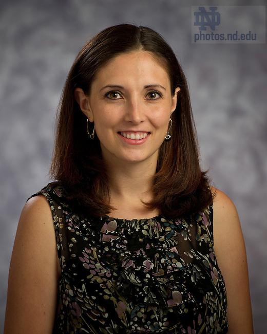 June 28, 2012; Tina Chandler..Photo by Matt Cashore/University of Notre Dame