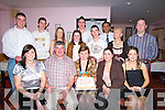 CAKE: Blowing out her 50 candles on her 50th Birthday in the China Dragon, Chinese Restaurant, Castleisland was Sheila McSweeney, and looking on were members of her family. Front l-r: Catherine,Eoin,Sheila(Birthday lady),Mairead and Marita McSweeney. Back l-r: Liam and Kieran McSweeney. Mary Browne,Aoife O'Sullivan,Brian Murphy,Mary Healy,Jason O'Mahony, Michael Singl and Eoin McSweeney....   Copyright Kerry's Eye 2008