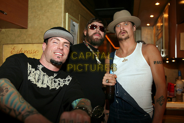 VANILLA ICE, HANK WILLIAMS JR. & KID ROCK .The NFL Alumni Awards held at the Seminole Hard Rock,.Hollywood, Florida, USA, 2 February 2007..half length .CAP/ADM/RR.©Randi Radcliff/AdMedia/Capital Pictures.