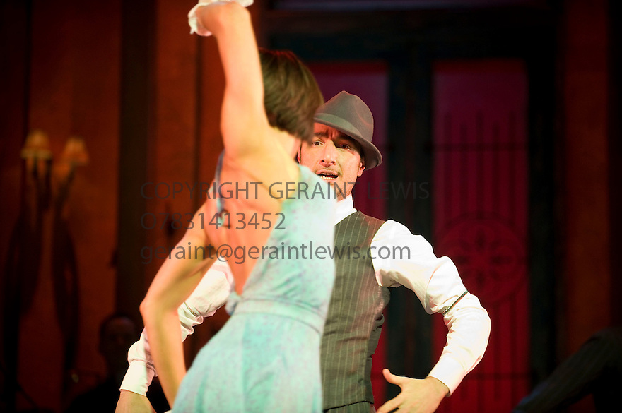 Midnight tango directed by Karen Bruce. With Vincent Simone as Pablo, Flavia Cacace as Sofia. Opens at The Aldwych Theatre   on 31/1/12 . CREDIT Geraint Lewis