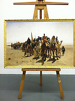Reproduction of Leon Belly (1827-1877),<br />