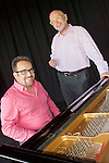 Pianist Chuchito Valdes, Manuel Valera and Aruan Ortiz came together for an evening of virtuoso piano fireworks at the Roots & Ribs music festival at the Oskar Schindler Performing Arts Center in West Orange, NJ.