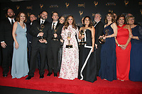 LOS ANGELES, CA - SEPTEMBER 09: Leah Remini, Scientology and the Aftermath, at the 2017 Creative Arts Emmy Awards- Press Room at Microsoft Theater on September 9, 2017 in Los Angeles, California. <br /> CAP/MPIFS<br /> &copy;MPIFS/Capital Pictures