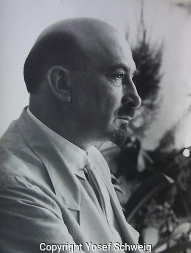 Portrait of Chaim Weizmann, 1928