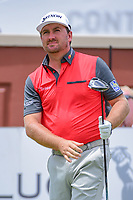 Graeme McDowell (NIR) watches his tee shot on 1 during round 3 of the Dean &amp; Deluca Invitational, at The Colonial, Ft. Worth, Texas, USA. 5/27/2017.<br /> Picture: Golffile | Ken Murray<br /> <br /> <br /> All photo usage must carry mandatory copyright credit (&copy; Golffile | Ken Murray)