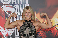 LOS ANGELES, CA - NOVEMBER 13: Brooke Ence, at the Justice League film Premiere on November 13, 2017 at the Dolby Theatre in Los Angeles, California. <br /> CAP/MPI/FS<br /> &copy;FS/MPI/Capital Pictures